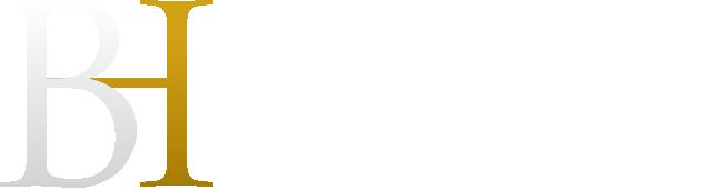Berkman Henoch Peterson Peddy & Fenchel, PC Logo in White | Long Island, NY Law Firm